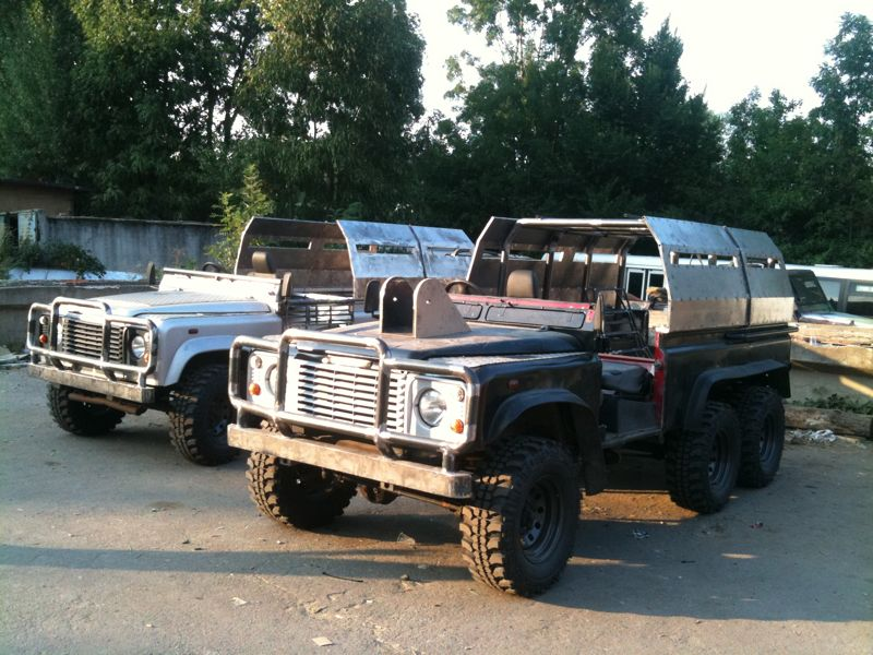 Image Land Rover Defender 110 6x6 Jpg Expendables Wiki