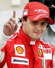 Felipe Massa 2008 Brazilian Grand Prix