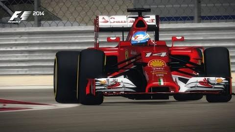 F1 2014 Bahrain Hot Lap
