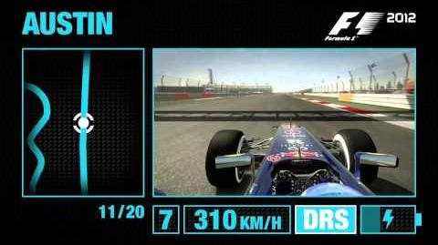 F1 2012 - Circuit of the Americas Hotlap