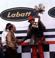 Gilles Villeneuve Wins Canada