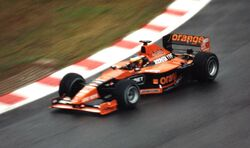Pedro de la Rosa Arrows A21 Belgium 2000