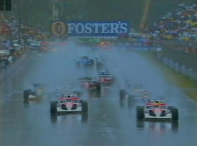 1991 Australian Grand Prix start