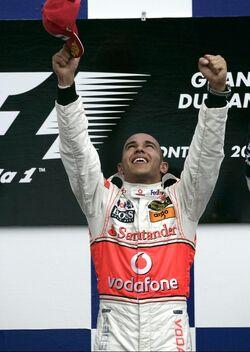 Lewis Hamilton 2007 Canadian Grand Prix
