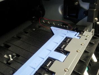 Dell 2350 Cartridge Sensors