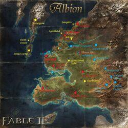 Eno Albion Map