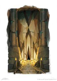Fable 3 Auroran Temple Entrance