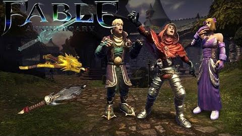 Fable Anniversary Villain's Weapons & Outfits Pack