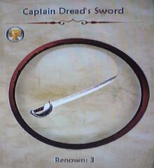 Captain Dread's Sword