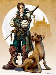 Hero and Dog