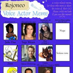 Voice meme