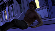 CW Bigby After Limo Crash
