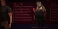 Toad (Video Game) Gallery