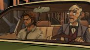 SAM Driving Back