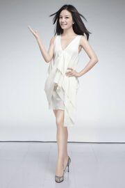 Vicki Zhao Full White Dress