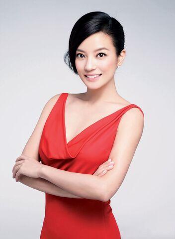 File:Vicki Zhao Red Dress Fashion.JPG