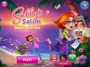 Sally's Salon Main Screen