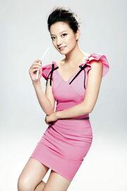 Zhao Wei Pink Dress