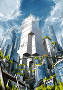 The city of Dharchonia by TateishiE