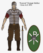Eastern Roman Soldier Equipment Circa 850 (Milkdairy)