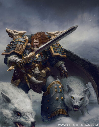 Leman russ space wolf primarch by mythrilgolem1-d49yysy