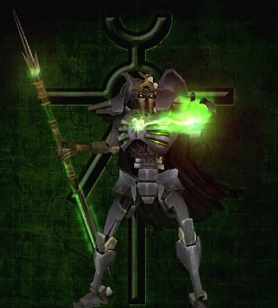 Necron Lord of Kronus by ZealotOfHonor7776