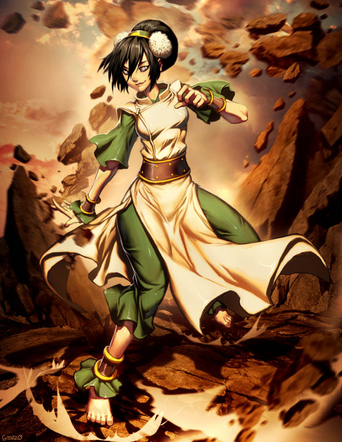 Avatar Toph Bei Fong by GENZOMAN