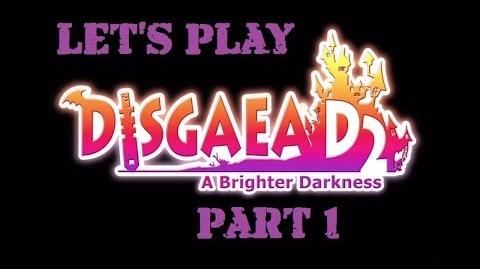 Disgaea D2 Walkthrough Part 1 MY GARDEN with Commentary