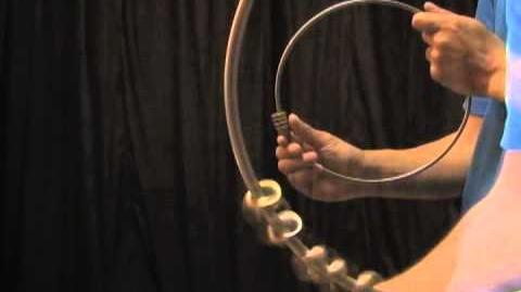 How To Do Tricks - BASIC START - BASIC MOVE - Chatter Ring チャッターリング
