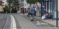Radfahren auf Gehwegen