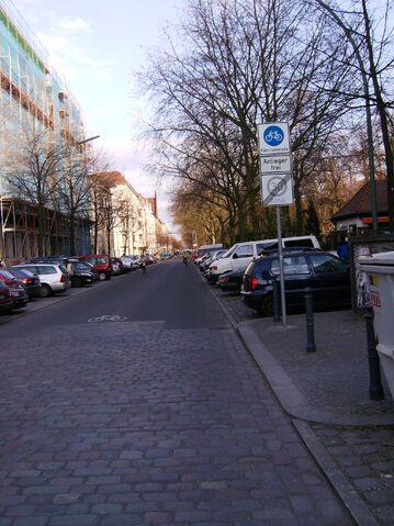 Datei:Bergmannstraße - Fahrradstraße.jpg