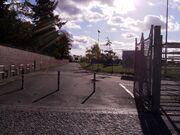 Haupteingang Tempelhofer Park am Columbiadamm