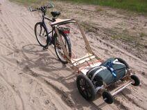 03 Testfahrt auf Sandweg