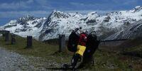 Liegeradtour über die Silvretta Höhenstraße zum autofreien Stilfser Joch und zum autofreien Albulapass