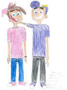 Timmy and Poof both as Teenagers2