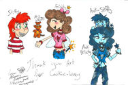 Fairies and anit fairies for cookie lovey by kittychan2005-d5i9baz