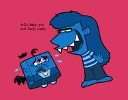 Foop s babysitter by cookie lovey-d4jfq0l