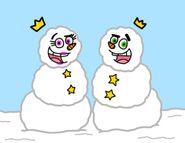 FOP Snowman by Cookie Lovey