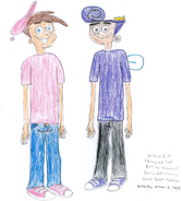 Timmy and Poof both as Teenagers