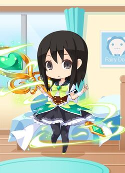 GB Magical Green Staff Girl preview