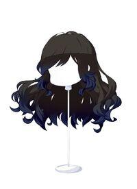 HAIR WindblownWavesBlack