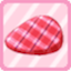 SFG Checked Barrette pink