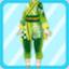 DG Elegant Pharmacist Costume green