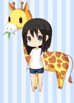 FZ Munching Giraffe preview