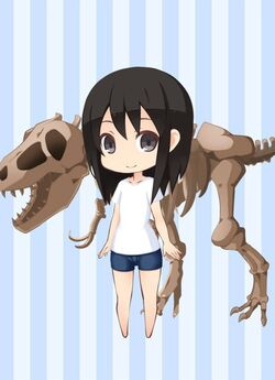 MOW Giant Tyrannosaurus Fossil preview