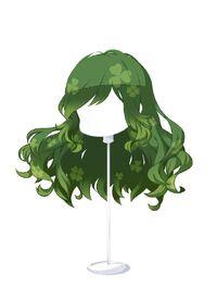 HAIR WindblownWavesCloverGreen
