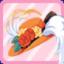 SE Madam's Rose Hat orange