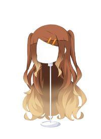 HAIR FlowingTwin-UpGradientChocoBeige