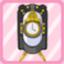 SSG Nostalgia Clock white