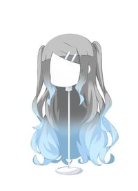 HAIR FlowingTwin-UpGradientSkyAsh